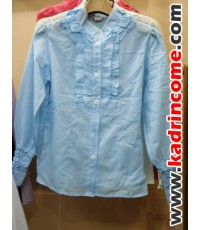 เสื้อเชิ้ตผู้หญิงแขนยาว ชุดทำงานผู้หญิง เชียงใหม่ D20W016