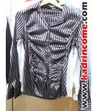 เสื้อเชิ้ตผู้หญิงแขนยาว ชุดทำงานผู้หญิง เชียงใหม่ D20W020