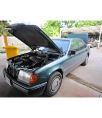 Benz 230E W124 ติดแก๊สระบบดูด Mixer K-Jet ถังแคปซูล75ลิตร