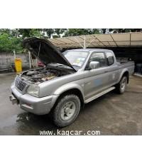 Mitsubishi Strada 4WD ติดแก๊ส ดีเซล เชื้อเพลิงร่วม ถัง58ใต้ท้อง