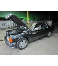 Benz 280CE W123 ติดแก๊ส ระบบMixer Kejet ถังโดนัท71ลิตร