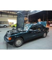 Benz 190E ติดแก๊ส ระบบดูด เครื่อง Kjet ถังโดนัท 42ลิตร