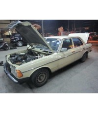 Benz 230E W123 เครื่องยนต์ 1JZ ติดแก๊ส LPG หัวฉีด 6สูบ ถังโดนัท51ลิตร