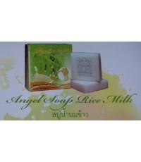สบู่น้ำนมข้าว Soap Rice Milk 1 ก้อน