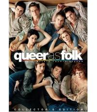 Queer as Folk Season 4  DVD ดีวีดี บรรยายไทย 5 แผ่นจบ*สกรีนเต็มวงทุกแผ่น