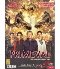 PRIMEVAL The Complete Series Two ไดโนเสาร์ทะลุโลก ดีวีดี พากษ์ไทย/เลือกภาษาได้ 2 แผ่นจบ
