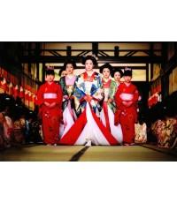 โอกุ สงครามจอมนาง Ooku Hana no Ran War of the Belles ดีวีดี พากษ์ไทย 3 แผ่นจบ