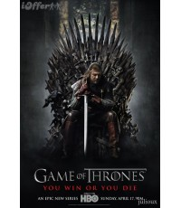 Game of Thornes season 1/มหาศึกชิงบัลลังก์ ปี 1 DVD บรรยายไทย 5 แผ่นจบ*master