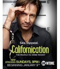 Californication season 4 แคลิฟอร์นิเคชั่น นักเขียนเซียนรัก ปี 4 DVD บรรยายไทย 2 แผ่นจบ*master