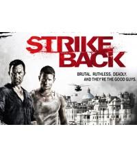 Strike Back season 3 ดีวีดี บรรยายไทย  5 แผ่นจบ