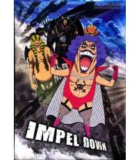 One Piece Season 13 [Impel Down] พากย์ไทย-บรรยายไทย DVD แผ่น 106 - 115 (ตอนที่ 421-456) 10 แผ่น
