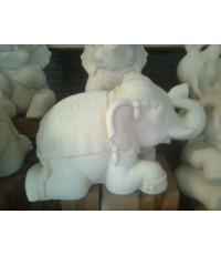 ช้างทรงเครื่องหมอบ (ใหญ่)