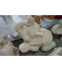 ช้างหินทรายยกขา (ใหญ่)