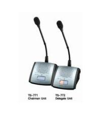 TOA TS-771 ชุดไมโครโฟนประชุมพร้อมลำโพงสำหรับประธาน