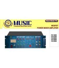 โมโนเพาเวอร์มิกเซอร์ มิวสิค 260 วัตต์ POWER MIXER MUSIC PS-260W