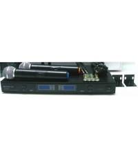 Wireless Microphone EUROTECH ET-666A ถือคู่ UHF ไมค์ลอย