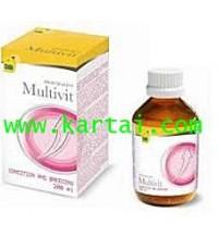CeDe Multi vitamin วิตามินรวมชนิดน้ำเข้มข้น บรรจุ 200 ml.