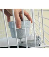 SAVIC ชามไส่น้ำ ไส่อาหาร กระต่าย แกสบี้ ไซร์ใหญ่ 500 ml. บรรจุ 1 อัน