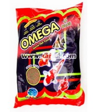 อาหารปลา OMAGA PLUS เร่งสี เร่งโต เร่งวุ้น บรรจุ 12 ซอง