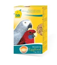 C.D PREMIUM อาหารไข่ สูตรบำรุงขน บำรุงร่างกาย สำหรับนกแก้วปากขอทุกชนิด บรรจุ 1 กิโลกรัม