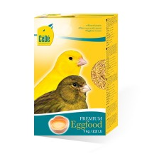 C.D PREMIUM อาหารไข่ สูตรบำรุงขน บำรุงร่างกาย สำหรับนกทุกชนิด บรรจุ 1 กิโลกรัม