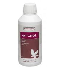 Avi-Chol อาวิโคล วิตามินบำรุงตับ กระตุ้นการผลัดขน และช่วยให้ลูกไก่ สร้างปีก และขนที่แข็งแรง 250ml.
