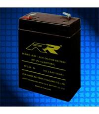 แบตเตอรี่แห้ง RR MP2.6A-6V THAI 6V 2.6Ah