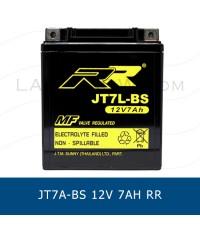 RR JT7L-BS YTX7L-BS GTX7L-BS 12V 7Ah แบตเตอรี่แห้ง มอเตอร์ไซต์ motorcycle battery