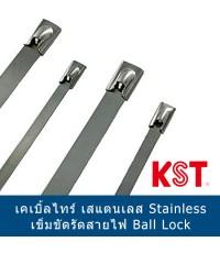 เคเบิ้ลไทร์สแตนเลส  Ball Lock Stainless Steel Tie ขายส่ง ปลีก นำเข้า โรงงาน