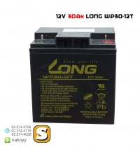 แบตเตอรี่ แห้ง 12V 30Ah WP30-12T LONG Battery Lead Acid SLA VRLA AGM