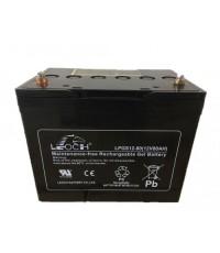 แบตเตอรี่ Deep Cycle  LPGS12-80  12V80Ah