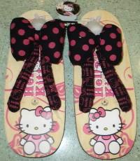 รองเท้าแตะ คิตตี้ (มีสองสี) เบอร์ 9.5 นิ้ว