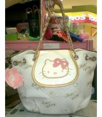 กระเป๋าสะพายไหล่คิตตี้ Kitty สายเป็นโซ่ ขนาด 12.5 นิ้ว