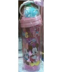กระติกน้ำ หลอดดูด มินนี่ เมาส์ Minnie Mouse