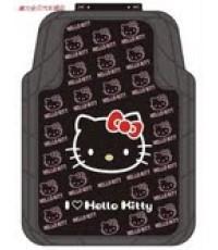 ยางปูพื้นรถคิตตี้ kitty สีดำ 5 ชิ้น