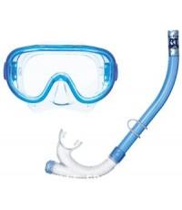 ชุดหน้ากากดำน้ำ + ท่อหายใจ TABATA RC1123