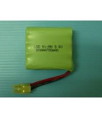 แบตเตอรี่ LGD NI MH 9.6V8*AAA 700MAH ปลั๊กขาว