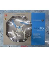 โดรนบังคับ รุ่น LHX16 ไม่มีกล้อง  บินนิ่งเล่นง่าย ขนาดกลาง ลำตัว30ซม