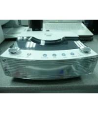 ดีวีดี-DVD Mini Combo-i audio KG-1105 สีขาว รูปแบบทันสมัย มือสอง แต่สภาพดีมากๆ