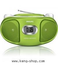 ฟิลลิปส์-Philips CD Soundmachine AZ102G พร้อม Dynamic Bass Boost เครื่องเล่นแผ่นCD, CD-R, CD-RW