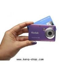 โกดัก-Kodak EasyShare Mini M200 เขาว่าขนาดเท่านามบัตร เล็กกะทัดรัด พกง่าย+แถมSD 4 GB+กระเป๋า+ส่งฟรี