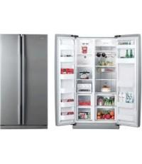 ตู้เย็น-Samsung side by side รุ่น R20NRPS 5 ขนาด18 คิว  ความจุ 510 ลิตร+ส่งฟรีทั่วไทย