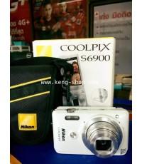 นิค่อน-Nikon Coolpix S6900 ออพติคอลซูม12เท่า Dynamic Fine Zoom 24เท่า เพื่อให้คุณถ่ายภาพคุณภาพสูงได้