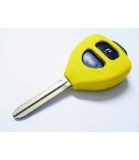 keyshirt ปลอกซิลิโคนหุ้มกุญแจรีโมทรถยนต์ TOYOYA Vios  Yaris Commuter