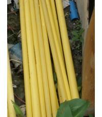 ท่อ PVC สีเหลือง-ตรง