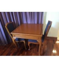 ชุดโต๊ะทานอาหาร 2 ที่นั่งมือสอง