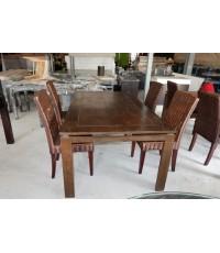 โต๊ะทานอาหาร 4 ที่นั่งมือสอง