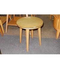 โต๊ะข้างไม้บีชทรงกลมมือสอง