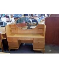 โต๊ะเครื่องแป้งไม้บีชมือสอง(ใหญ่)