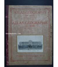 Atlas-Geography of Siam. Atlas-Geographie du Siam.